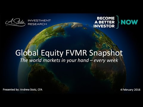Global Equity FVMR Snapshot - Become a Better Investor