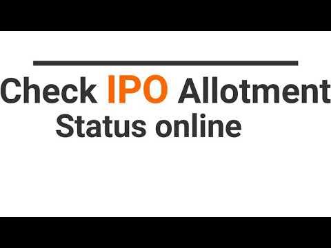 check-ipo-allotment-status-online