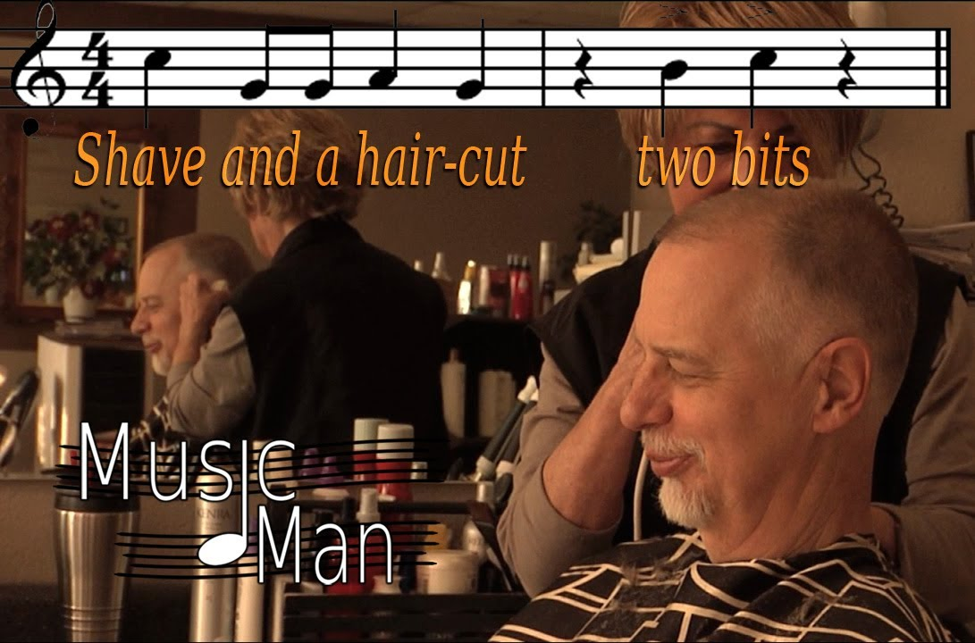 Music Man Film Shave And A Hair Cuto Bits Youtube