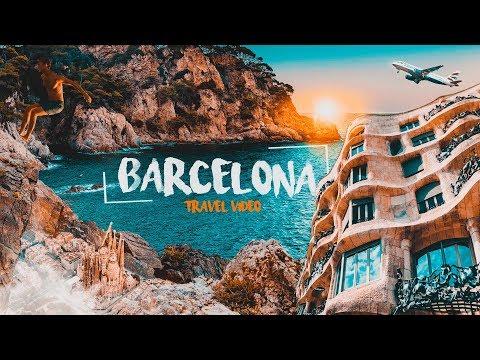 BARCELONA SPAIN -TRAVEL VIDEO/VLOG 2018 l SONY a6000+CRANE l OutTime
