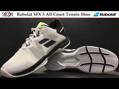 huge discount 53191 270d2 Babolat SFX 3 All Court Tennis Shoe Preview   Tennis Express