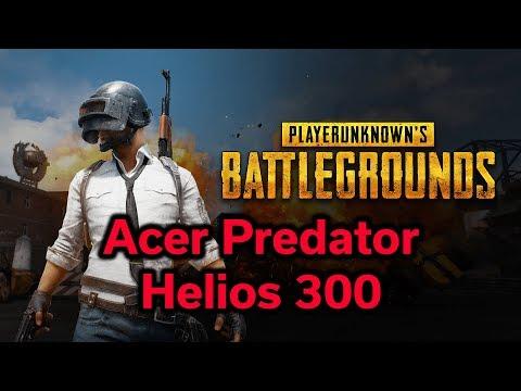Acer Predator Helios 300 - PUBG - i7-7700HQ - GTX 1060 6GB - Benchmark