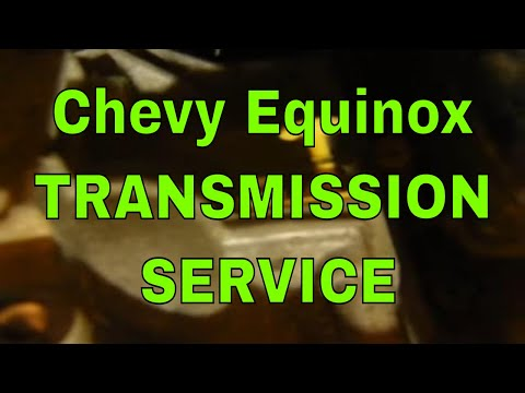 how-to-service-chevy-equinox-transmission-fluid