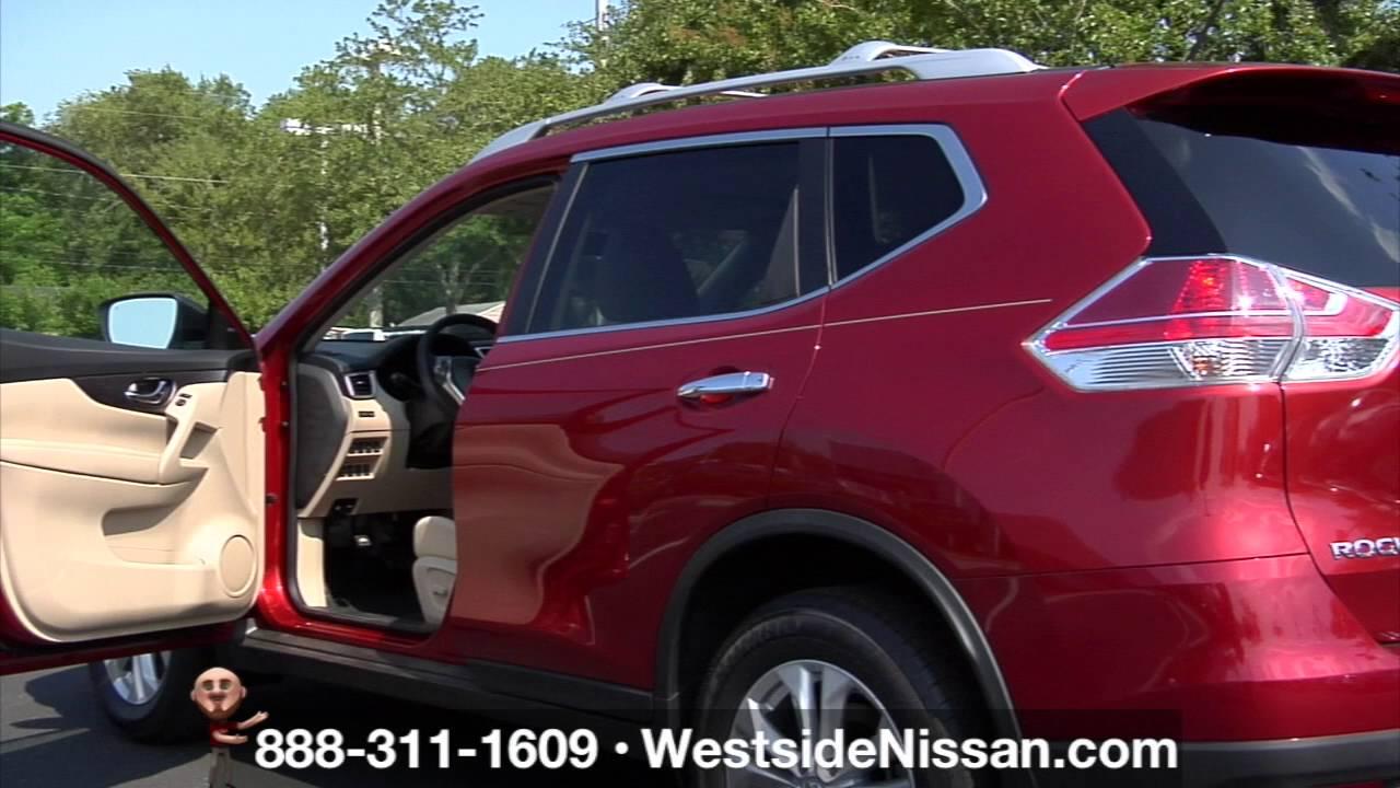 Cayenne Red 2016 Nissan Rogue Interior In Stock Westside Jacksonville Fl