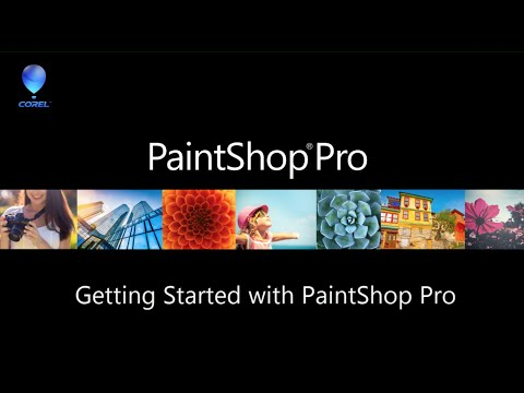 Getting Started with PaintShop Pro