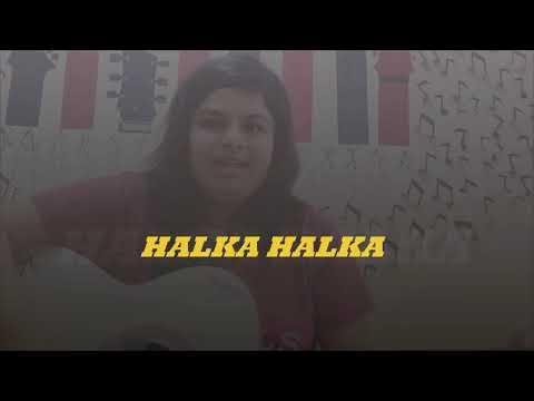 Halka Halka | Fanney Khan | Sunidhi Chauhan | Divya Kumar | Guitar Cover