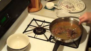 How to cook Cube Steak and Brown Gravy with Onions ! = Cooking