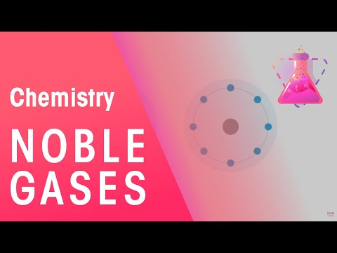 Noble gases - the gases in Group 18 | The Chemistry Journey | The Fuse School