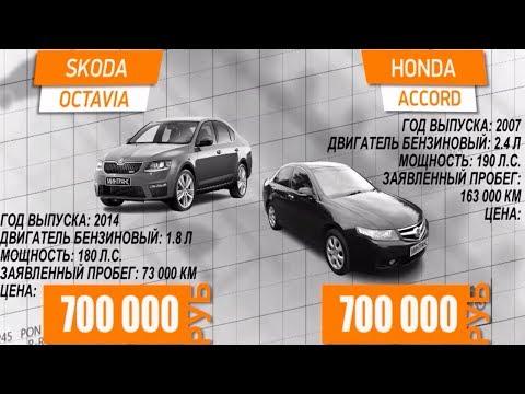Skoda Octavia против Honda Accord. Минтранс.