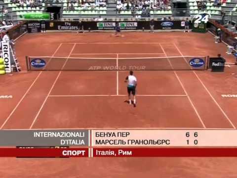 Теніс: Сенсаційний Бенуа Пер продовжує змітати супер...