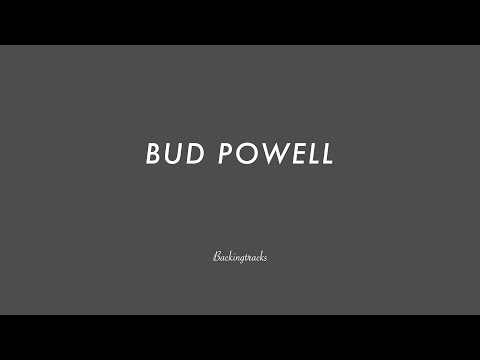 BUD POWELL chord progression - Backing Track (no piano)