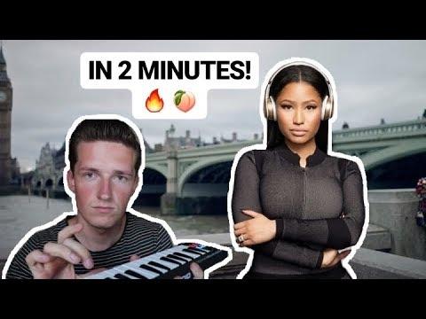 "How Nicki Minaj`s ""NO FRAUDS"" was made in 2 MINUTES (ft. Drake, Lil Wayne)"