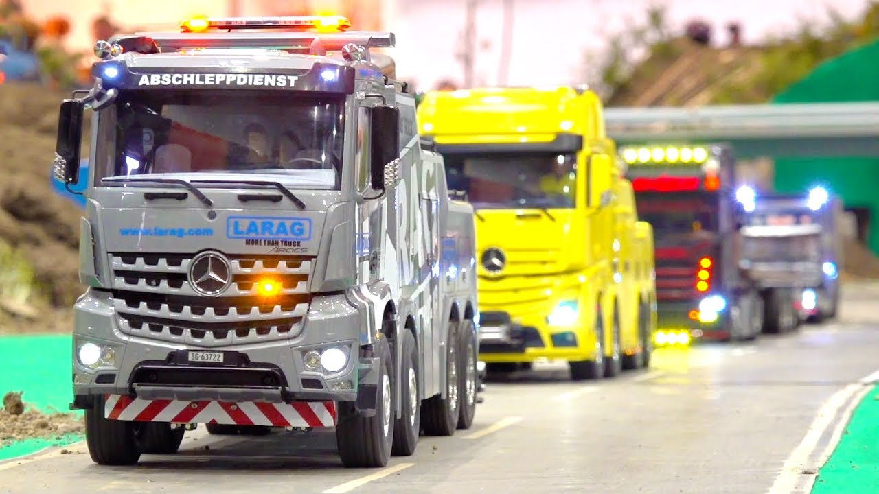 INCREDIBLE RC TRUCK ACTION // SPECIAL HANDMADE RC BUSES, RC TRUCKS & RC DIGGER // IG RAD&KET