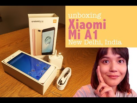Membuka Kotak Kemasan Xiaomi Mi A1   Video Unboxing