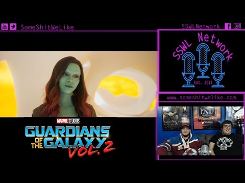 Guardians of the Galaxy Vol 2 Reaction & Review | SSWL Ep 213 - Clip