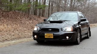 "2005 ""Blob Eye"" Subaru WRX Review!"