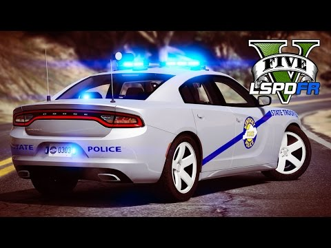 GTA 5 - LSPDFR Ep138 - INSANE Kentucky State Police Patrol!!