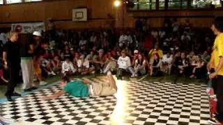 O fish All Crew (Annecy / France) VS Locos (Saint Gall / Suisse)  Battle de l Asphalte 2009