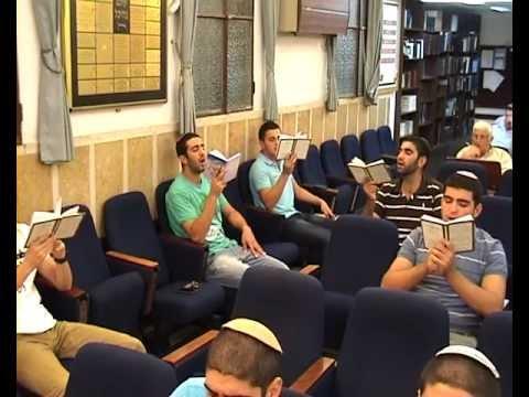 סליחות המניין של הצעירים תשעב 2012 נוסח יהודי אל-וואד סוף
