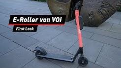 VOI E-Scooter im Test: Festhalten, hier wird's brenzlig