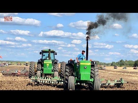 John Deere Tractors Plowing At The Half Century Of Progress Show