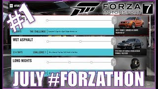 Forza Motorsport 7 July #FORZATHON 1