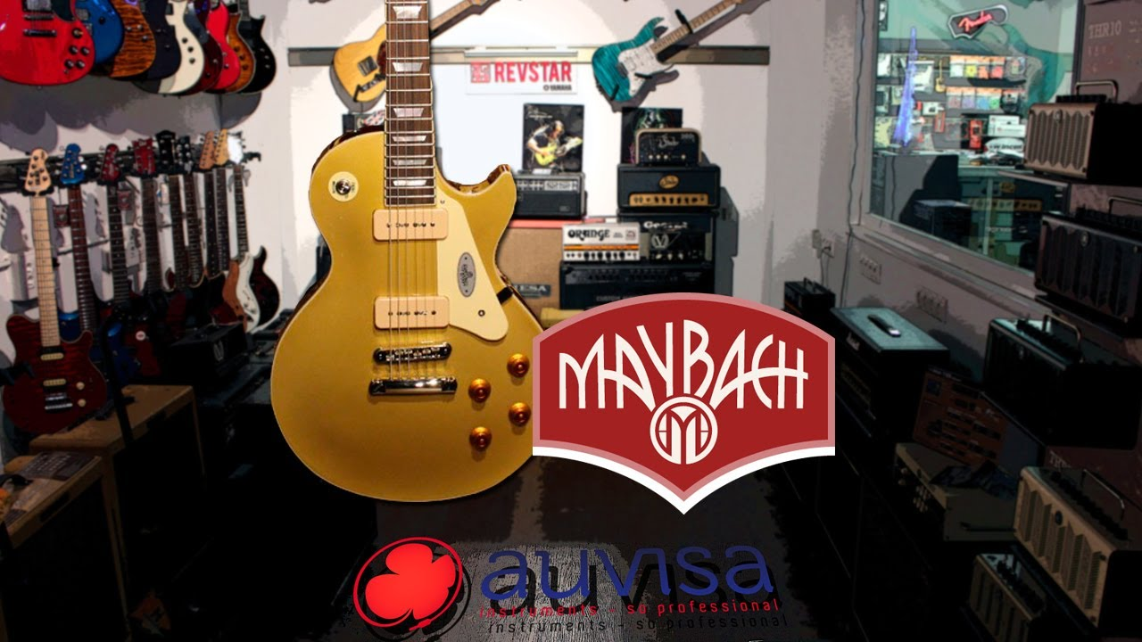 review maybach lester gold rush p90 - youtube