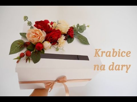Svatebni Dekorace Krabice Na Dary Wedding Diy Youtube