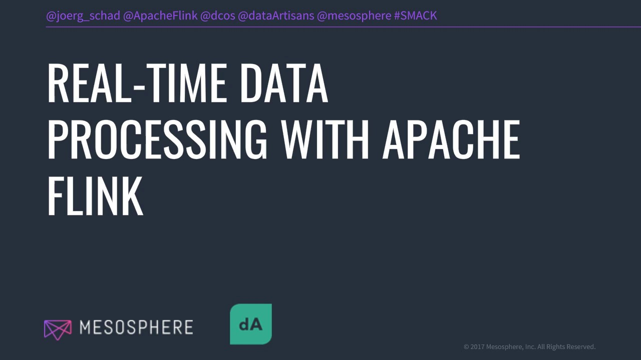 Webinar: Real-Time Data Processing with Apache Flink