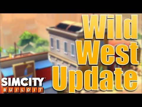 SimCity Buildit | Wild West Update & Mayor's Gift Game