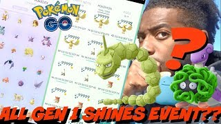MAJOR SHINY GEN 1 EVENT COMING SOON IN POKEMON GO!! + MY 7TH EX RAID PASS, AND MORE!! (Update)