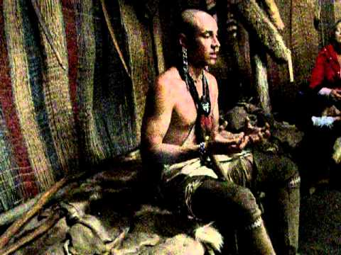 Wampanoag Native discussing his native Culture