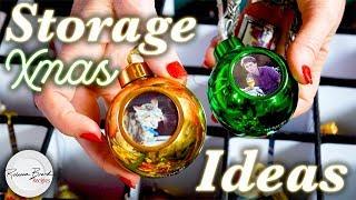 Christmas Decoration Organization Ideas | Storage Ideas