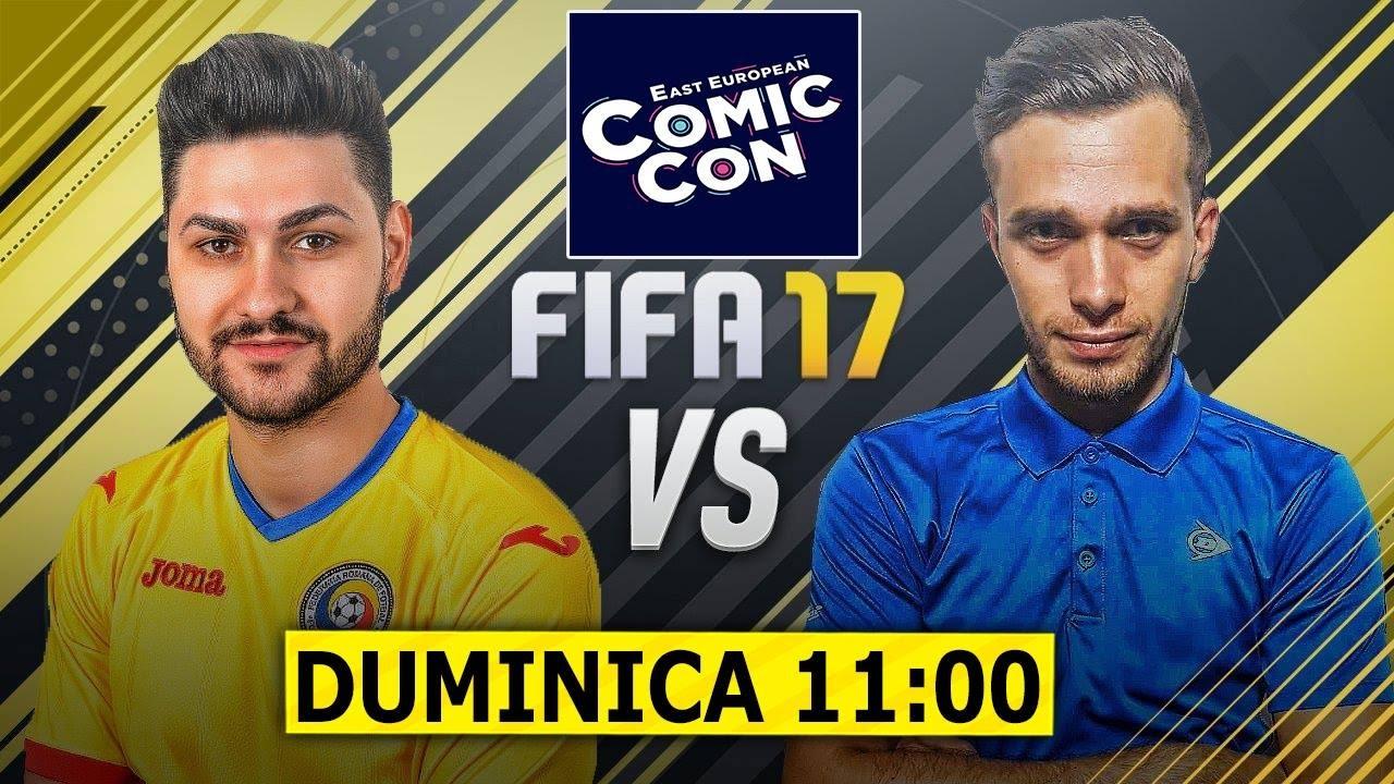 Xbraker vs Ovidiu Patrascu La Cel Mai Tare Eveniment de Gaming Comic Con Duminica Ora 11:00