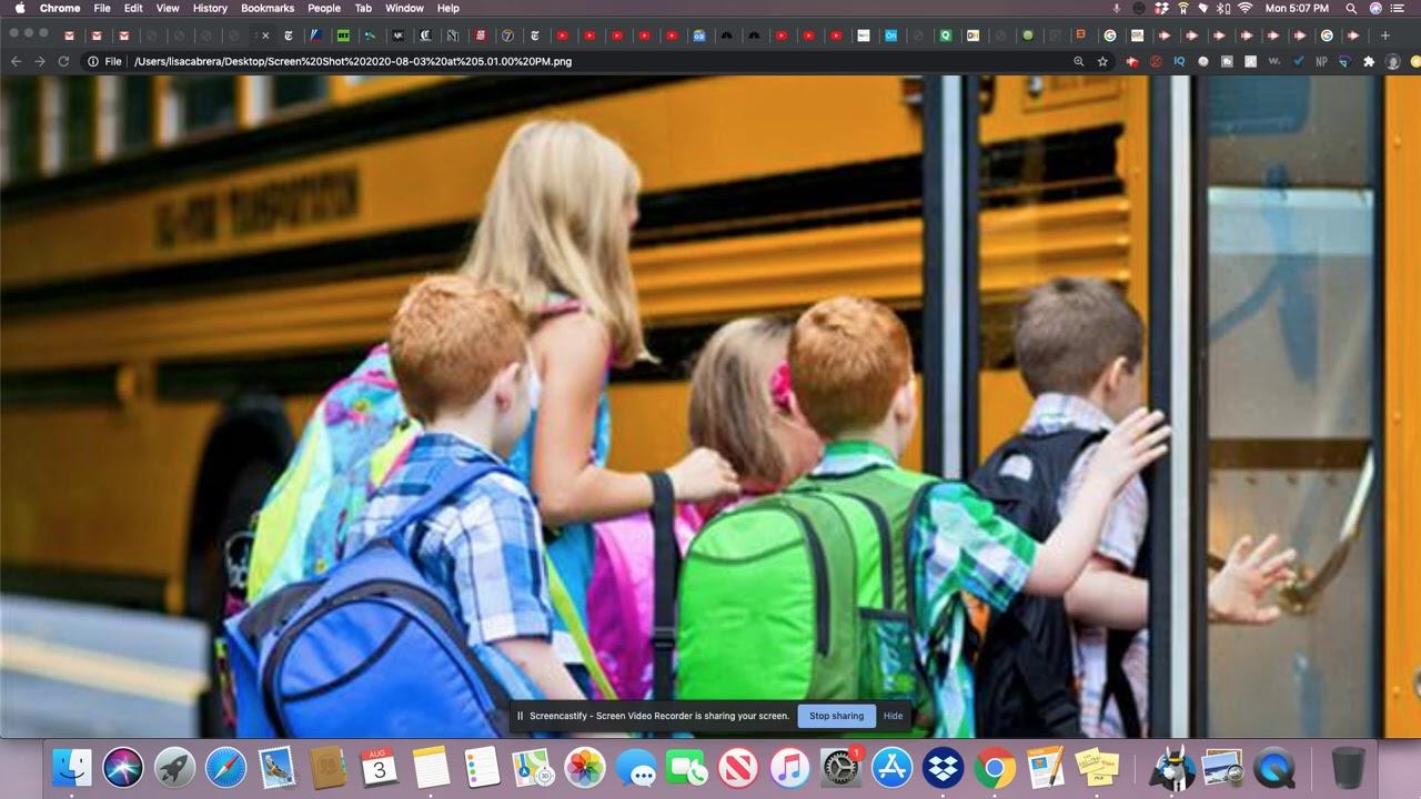 Parents In GA Send Their Kids Back To School