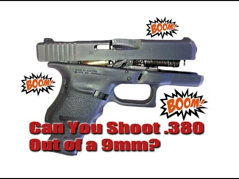 Shooting.380 In a 9mm Pistol: Wrong Caliber Will it Work or Blow Up?