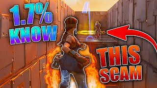 1,7% Of People Know This SCAM! (Scammer Gets Scammed) In Fortnite Save The World Pve