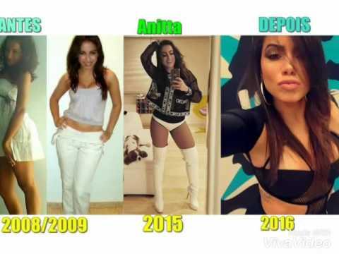 Anitta Antes Y Después - YouTube