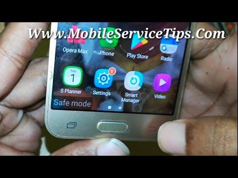How to Fix Samsung j200 Safe Mode