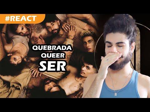 Quebrada Queer - EP SER REACT  Comentando faixa a faixa