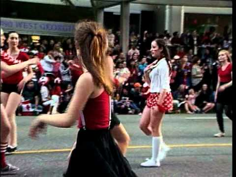 Vancouver Canada Day Parade on Shaw TV July 1, 2012 Part 2