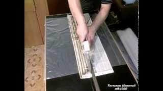 видео: Как паять мешки под грибные блоки