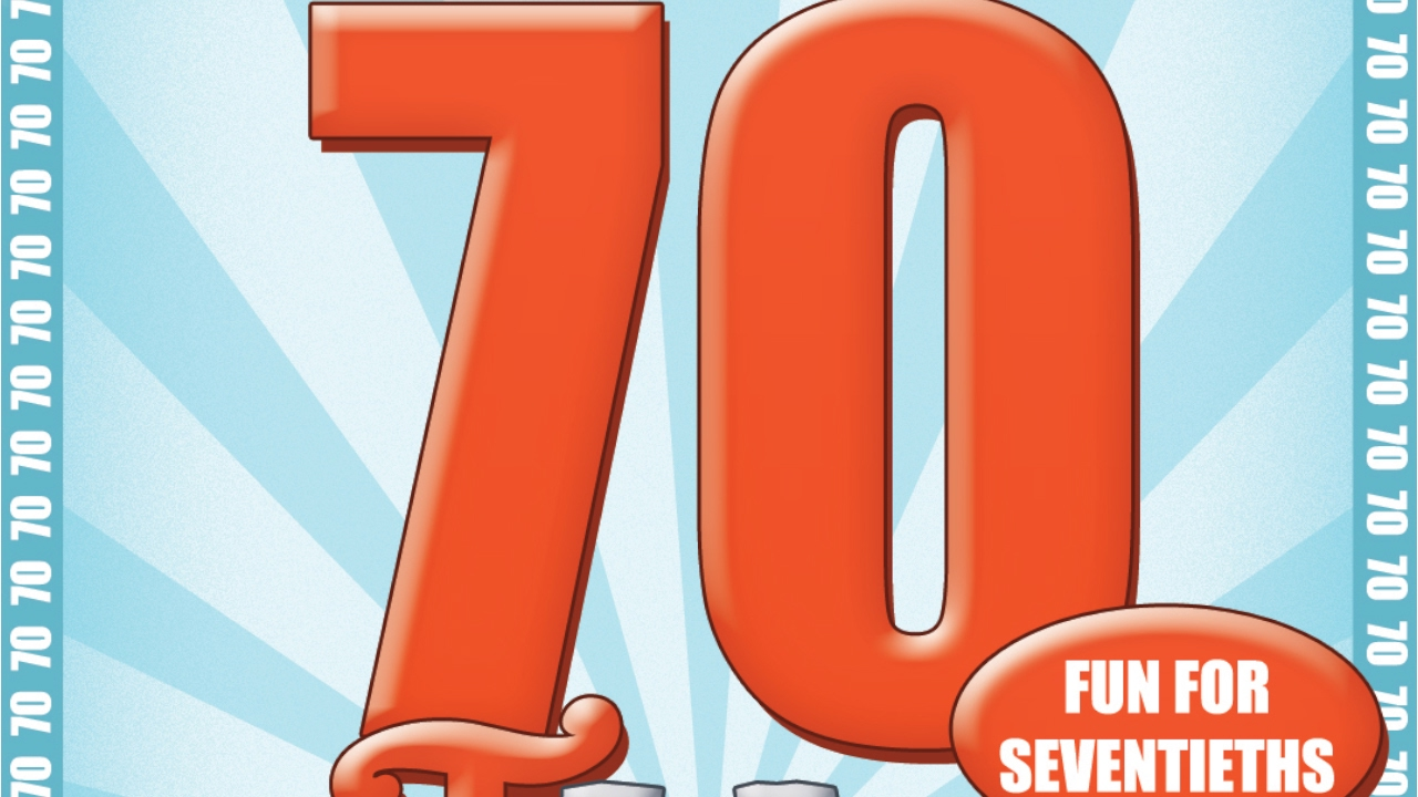 The 70th birthday game a great new 70th birthday gift idea the 70th birthday game a great new 70th birthday gift idea available from goforitgames biocorpaavc