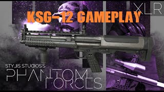 [ROBLOX] Phantom Forces - KSG-12 Gameplay