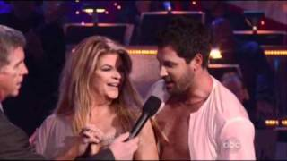 Kirstie and Maks dance Rumba - DWTS Season 12 Week 3