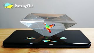 🎥 How to Make 3D Hologram  Projector with Resin (Super Clear) - Resin DIY