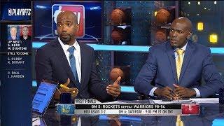 Warriors vs Rockets Game 5 Postgame Analysis | NBA GameTime | May 24, 2018