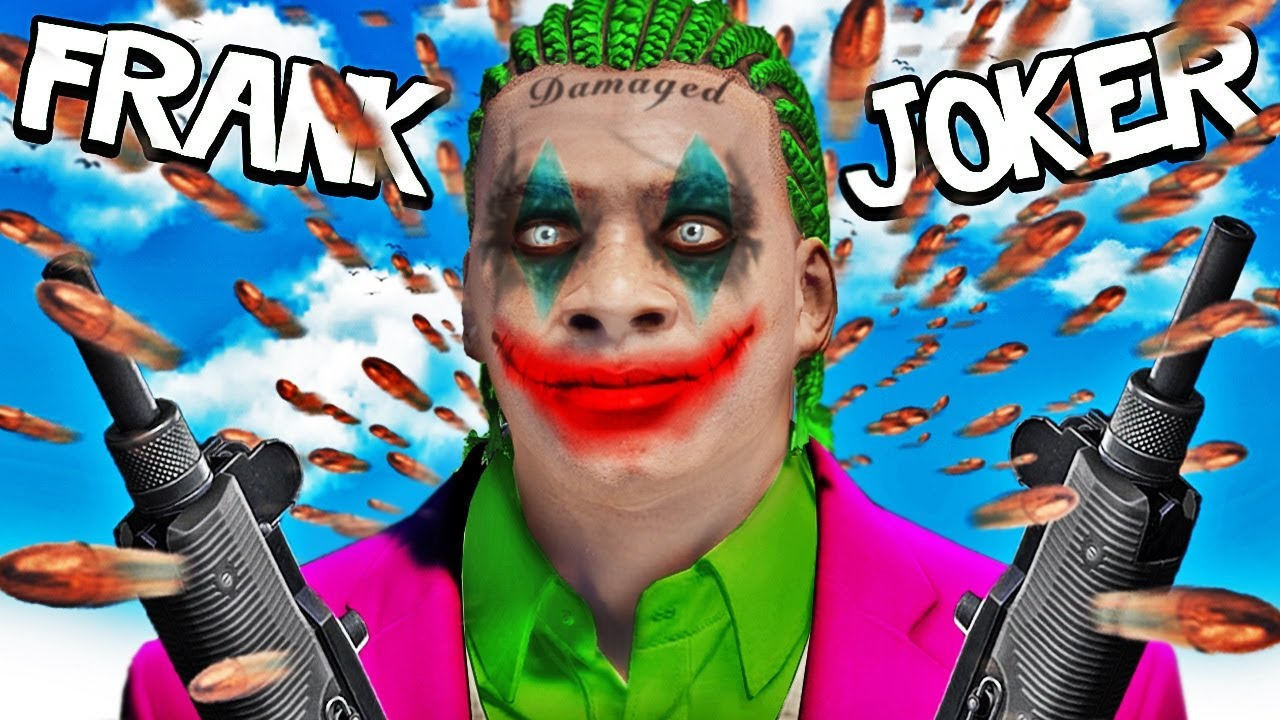 FRANKLIN Becomes The JOKER In GTA 5 (Suicide Squad)