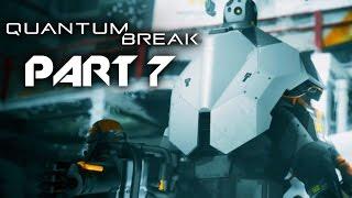 Quantum Break Gameplay Walkthrough Part 7 - ACT 3 BOSS FIGHT (Full Game)