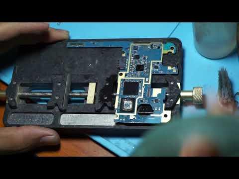 Samsung Galaxy mega 1 Gt-i9205 change new Emmc by propcfix